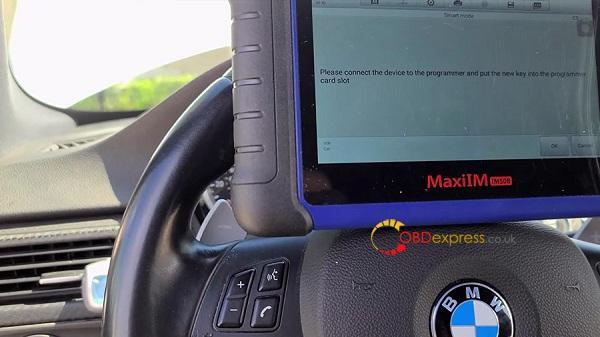Autel Maxiim508 Xp400 2011 Bmw M3 Key Add 15