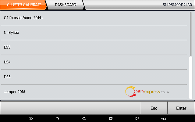obdstar dp plus citroen mileage programming 03 - OBDSTAR Peugeot Citroen Odometer Correction using guide + Car List - Obdstar Dp Plus Citroen Mileage Programming 03