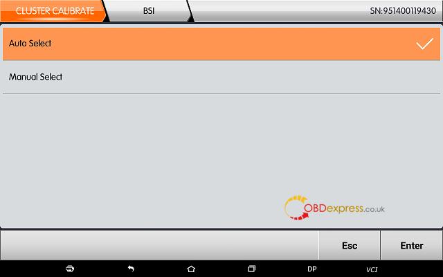 obdstar dp plus citroen mileage programming 06 - OBDSTAR Peugeot Citroen Odometer Correction using guide + Car List - Obdstar Dp Plus Citroen Mileage Programming 06