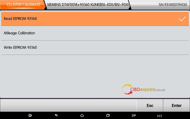 obdstar dp plus citroen mileage programming 12 - OBDSTAR Peugeot Citroen Odometer Correction using guide + Car List - Obdstar Dp Plus Citroen Mileage Programming 12
