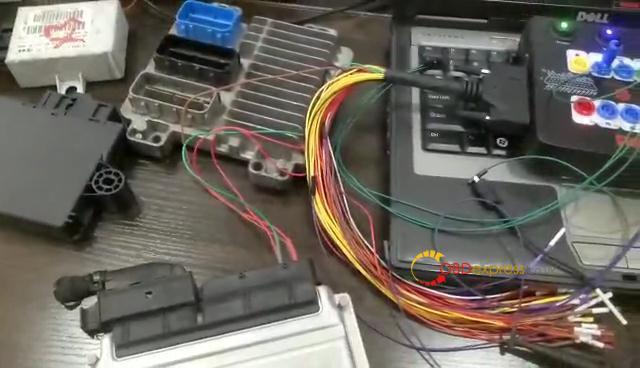 Godiag Gt100 Mpps V18 Read Audi A6 Me7 5 Ecu Data 03
