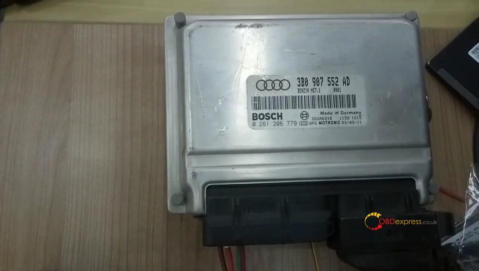 Godiag Gt100 Mpps V18 Read Audi A6 Me7 5 Ecu Data 09