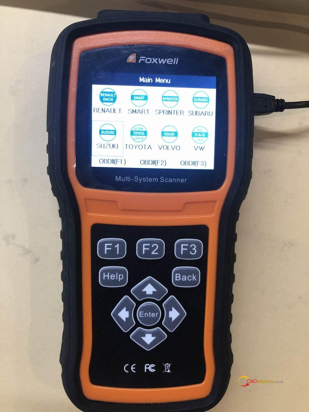 Japanese Cars Professional Diagnostic Tool Foxwell 03