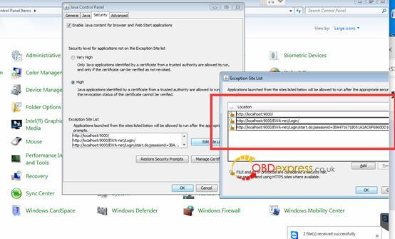 """mb star epcnet java security solution 02 - Fixed! MB Star EPC.net error """"application blocked by Java Security"""" - Mb Star Epcnet Java Security Solution 02"""