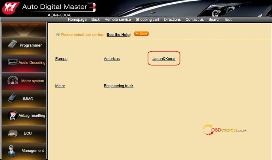 Yanhua Digimaster3 Toyota Odometer Correction 01