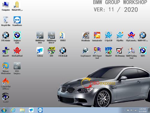 BMW ISTA Diagnostic Software V2020.11 1