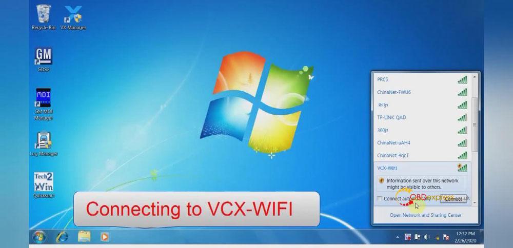 Vxdiag Vcx Nano Gm Wifi Connecting 01