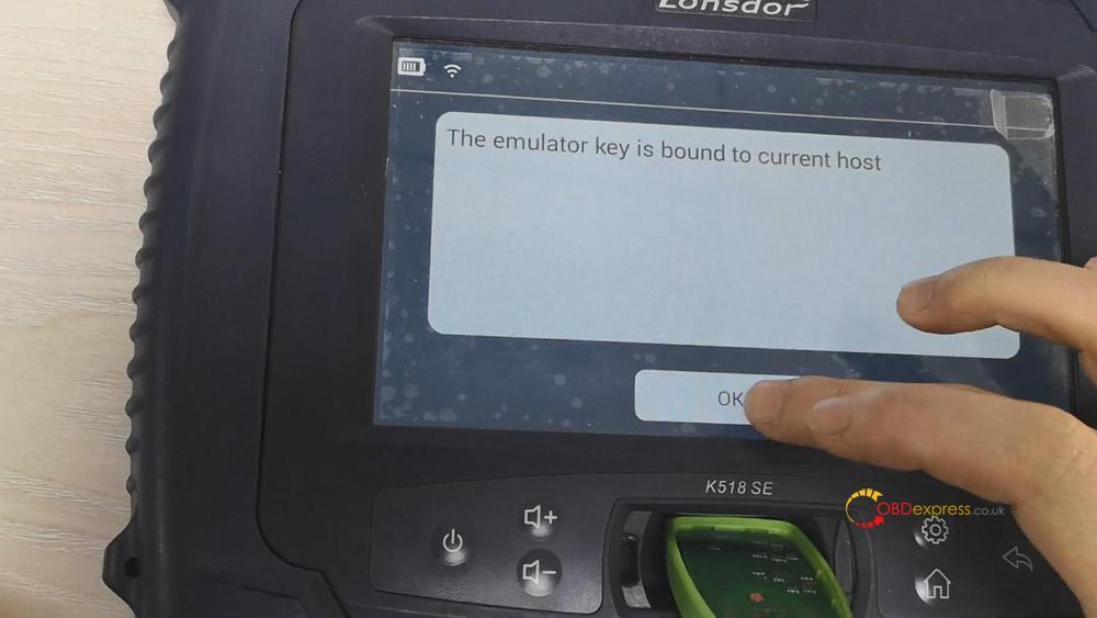 bind ske emulator to lonsdor k518 07 - How to Bind SKE Emulator to Lonsdor K518 key programmer?