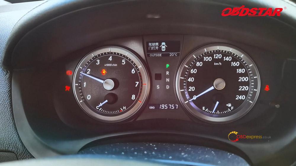 obdstar key sim program lexus 98 smart key akl 14 - Program Toyota Lexus Smart Key AKL by OBDSTAR Key SIM & X300 -
