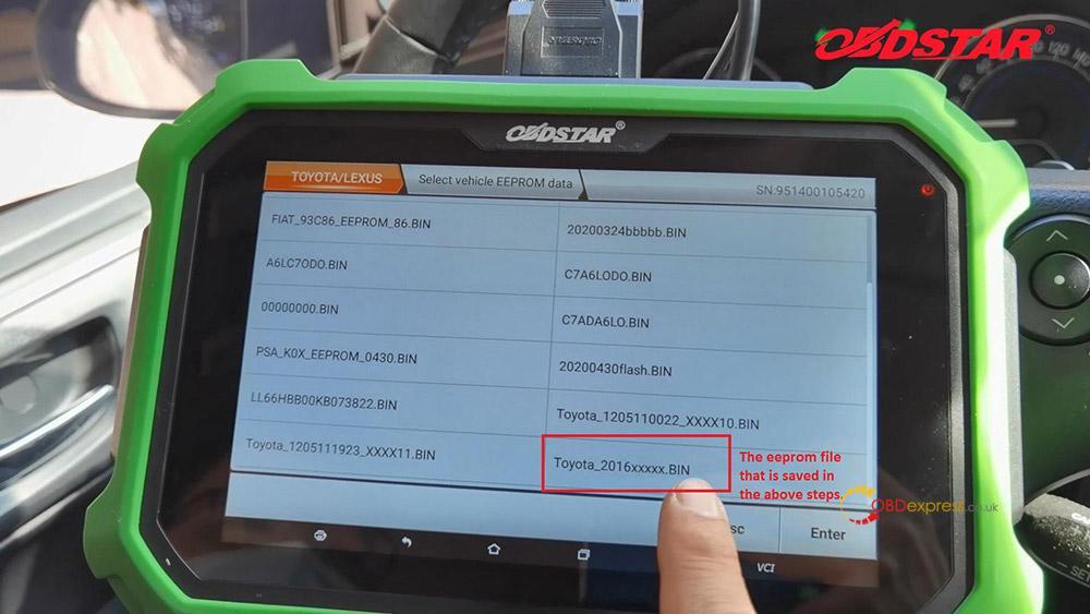obdstar key sim program toyota a8 smart key akl 04 - Program Toyota Lexus Smart Key AKL by OBDSTAR Key SIM & X300 -