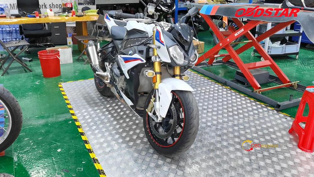 obdstar ms80 diagnose 2018 bmw s1000r motorbike 01 - How does OBDSTAR MS80 diagnose 2018 BMW S1000R Motorbike?
