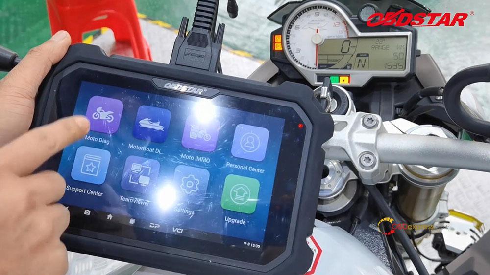 obdstar ms80 diagnose 2018 bmw s1000r motorbike 04 - How does OBDSTAR MS80 diagnose 2018 BMW S1000R Motorbike?