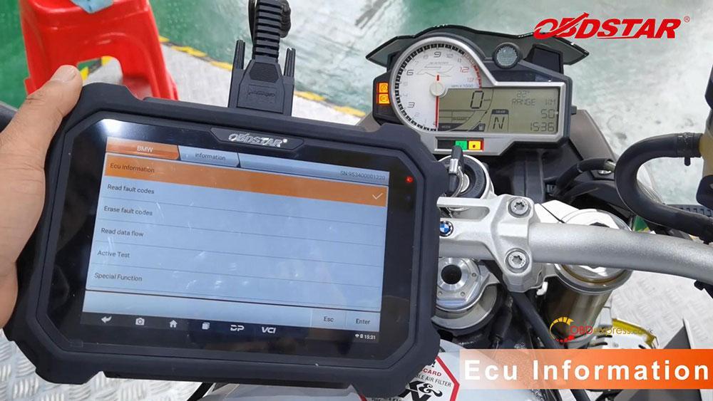 obdstar ms80 diagnose 2018 bmw s1000r motorbike 08 - How does OBDSTAR MS80 diagnose 2018 BMW S1000R Motorbike?