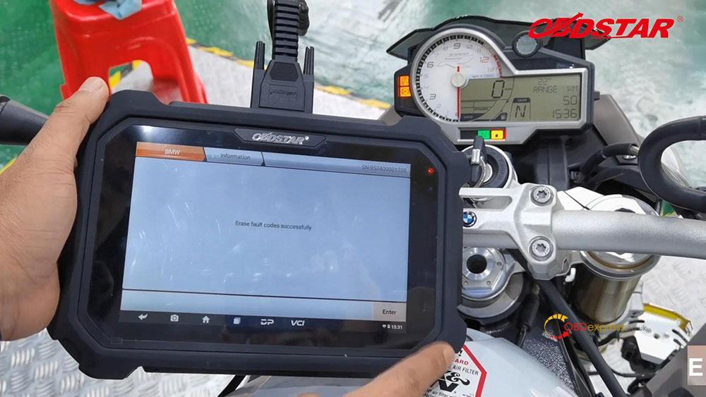obdstar ms80 diagnose 2018 bmw s1000r motorbike 10 - How does OBDSTAR MS80 diagnose 2018 BMW S1000R Motorbike?