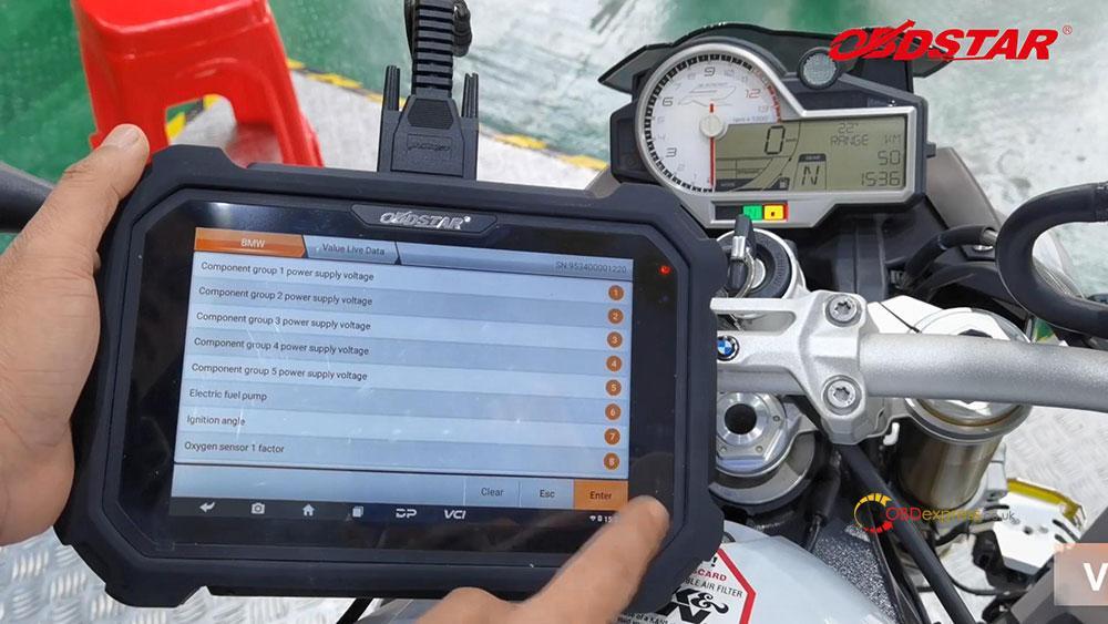 obdstar ms80 diagnose 2018 bmw s1000r motorbike 12 - How does OBDSTAR MS80 diagnose 2018 BMW S1000R Motorbike?