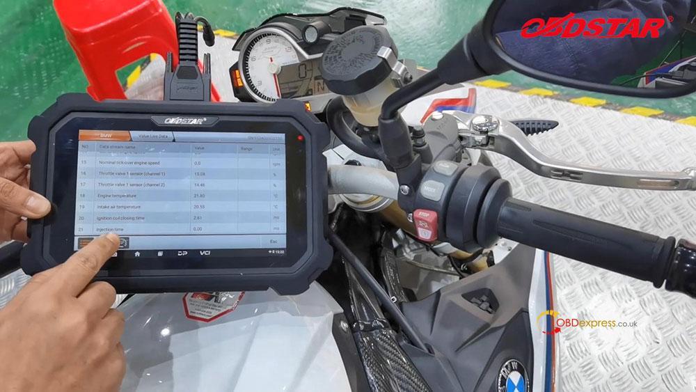 obdstar ms80 diagnose 2018 bmw s1000r motorbike 13 - How does OBDSTAR MS80 diagnose 2018 BMW S1000R Motorbike?