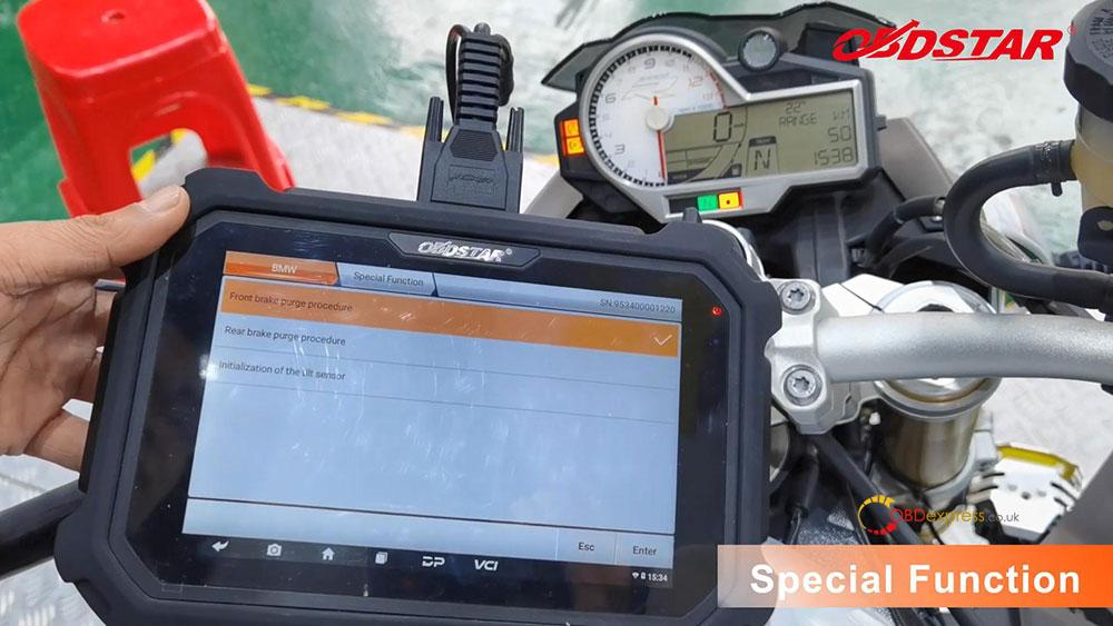 obdstar ms80 diagnose 2018 bmw s1000r motorbike 21 - How does OBDSTAR MS80 diagnose 2018 BMW S1000R Motorbike?