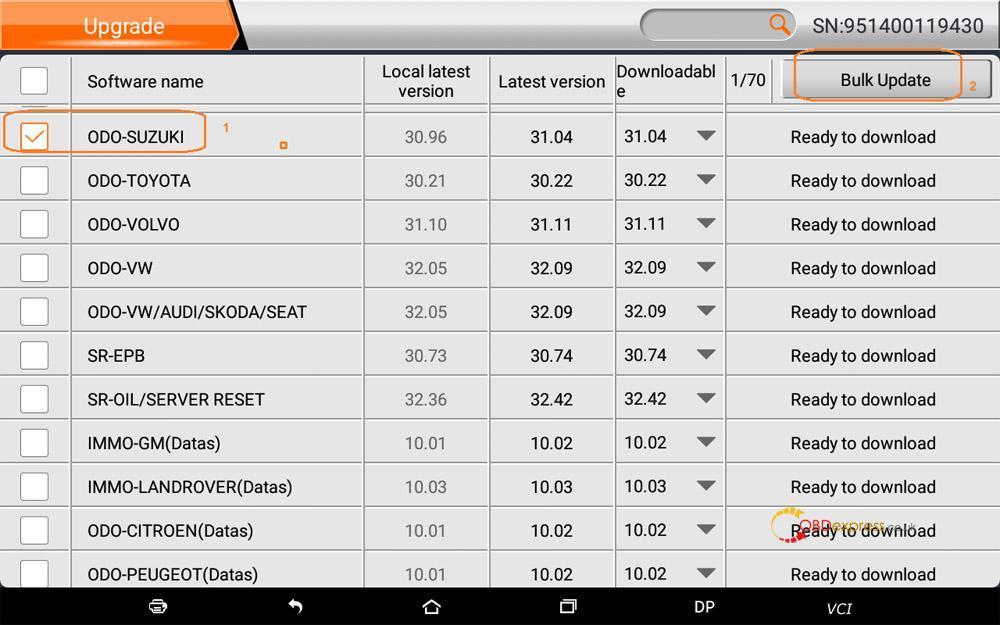 obdstar suzuki swift mileage programming 06 - OBDSTAR Suzuki Swift mileage programming via OBD -