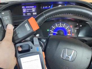 VVDI Key Tool Max + Mini OBD program Honda Civic