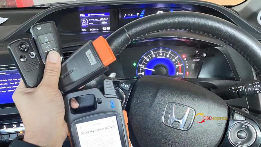vvdi key too max min obd program honda civic 02 - VVDI Key Tool Max + Mini OBD program Honda Civic: perfectly