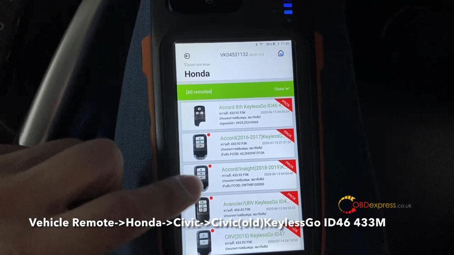 vvdi key too max min obd program honda civic 10 - VVDI Key Tool Max + Mini OBD program Honda Civic: perfectly