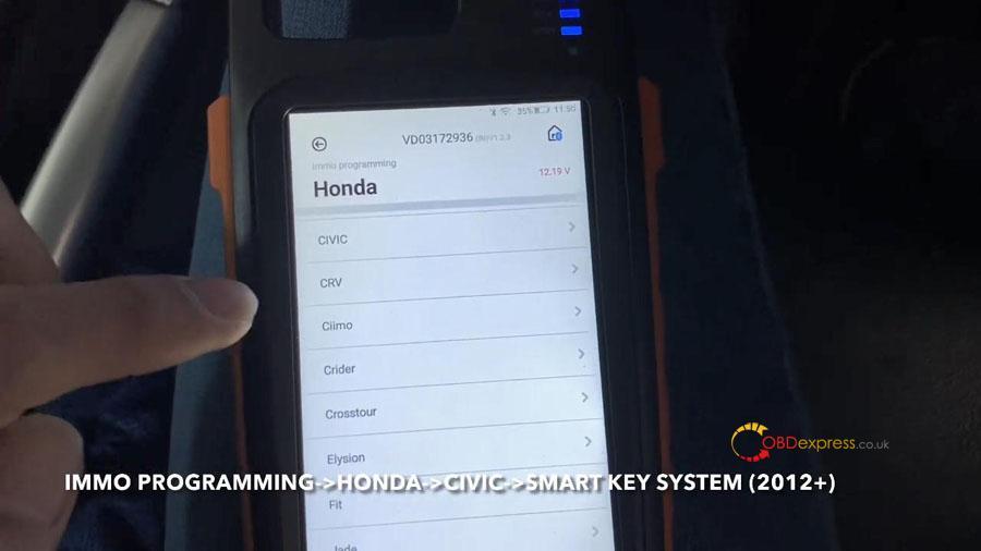 vvdi key too max min obd program honda civic 16 - VVDI Key Tool Max + Mini OBD program Honda Civic: perfectly