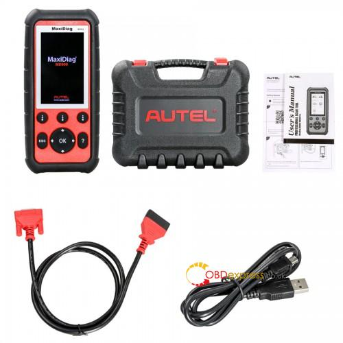 AUTEL MD808 for Engine Transmission SRS ABS systems with EPB Oil Reset - Autel rest Ford Transit MWB 2009 ABS, ESP and engine light on