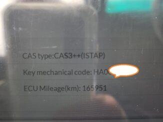Autel IM608 2010 BMW 328i AKL OBD Cas3++ ISTAP
