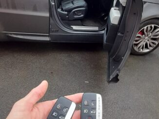 Autel IM608 2014 Range Rover sport keyless add key