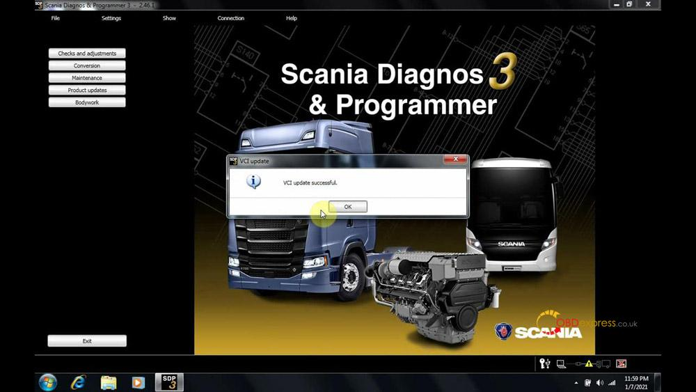 scania sdp3 2 46 1 installation 14 - Scania VCI3 SDP3 2.46.1 free download and Win7 installation
