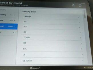 vvdi key tool plus Immo Programming for European Cars List