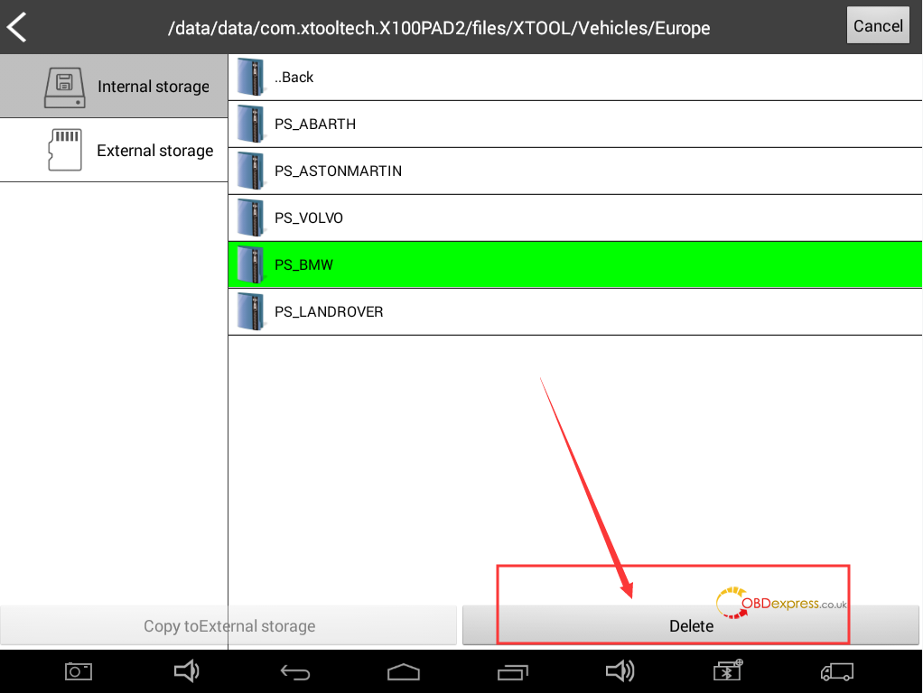 """xtool x100 pad2 storage space running out solution 05 - Xtool X100 Pad2 """"Storage space is running out"""" Solution"""