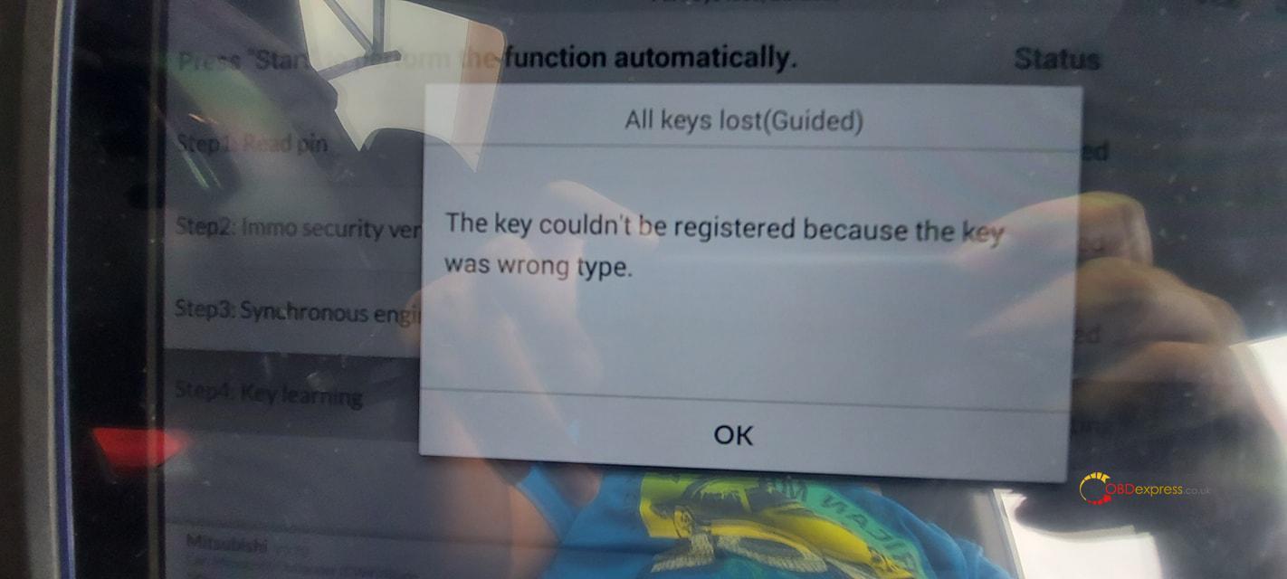 autel maxiim im608 key id46 all key lost 03 - Autel IM608 Key ID46 All Keys Lost Programming No Problem