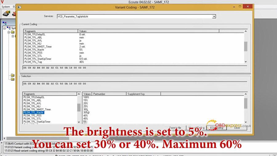 benz w212 w213 headlight coding 08 - Benz W212 W213 headlight coding with Vediamo / Autel MS908pro