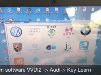 vvdi2 audi a4 2010 all key lost programming 01 326x245 - VVDI Prog and VVDI2 Program Audi A4 2010 All Key Lost