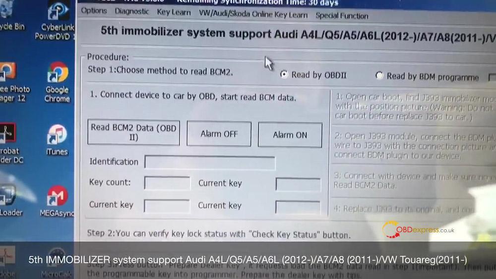 vvdi2 audi a4 2010 all key lost programming 03 - VVDI Prog and VVDI2 Program Audi A4 2010 All Key Lost -