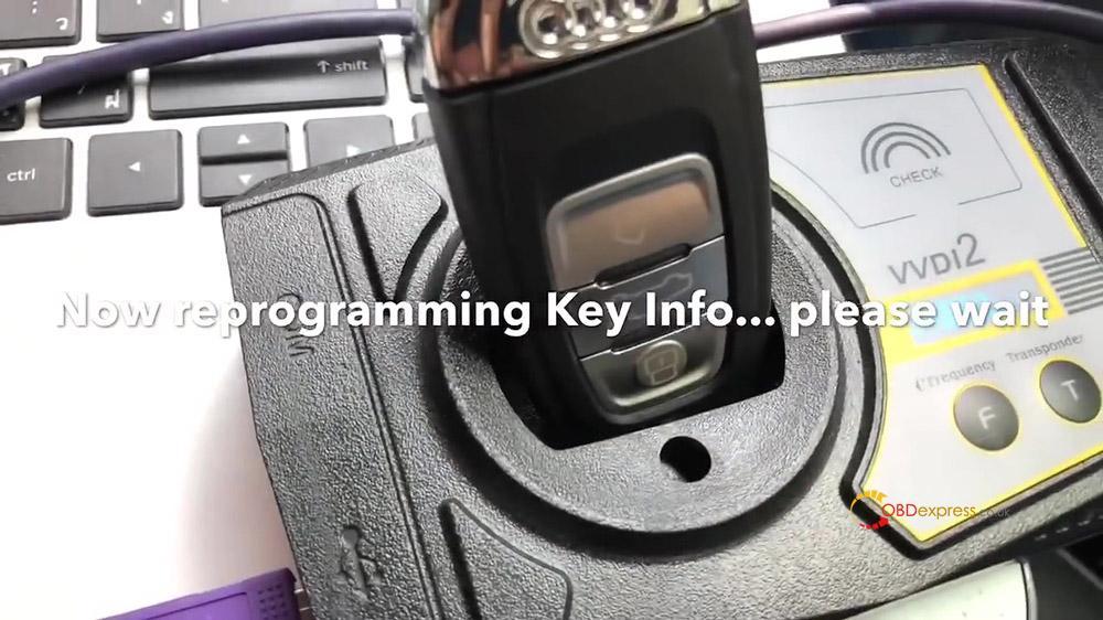 vvdi2 audi a4 2010 all key lost programming 15 - VVDI Prog and VVDI2 Program Audi A4 2010 All Key Lost -
