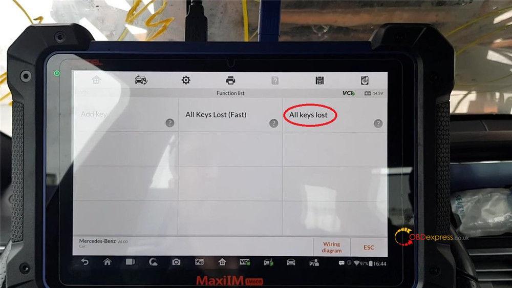 autel maxiim im608 benz test reports 03 - Autel MaxiIM IM608 IM508 Benz Coverage and Test Reports