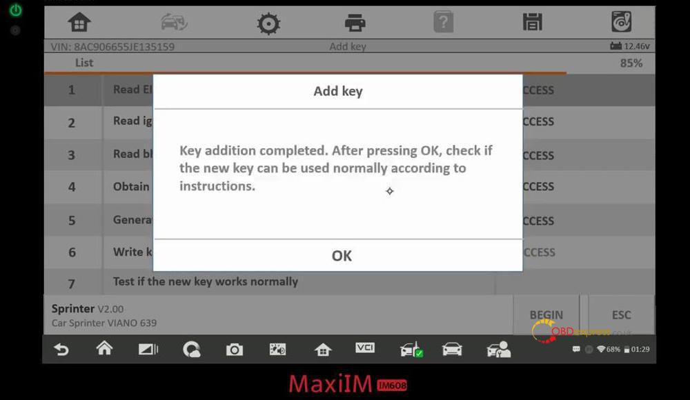 autel maxiim im608 benz test reports 08 - Autel MaxiIM IM608 IM508 Benz Coverage and Test Reports