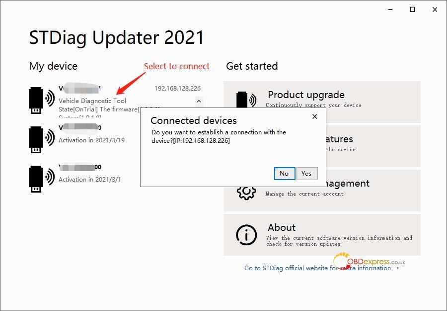 godiag v600 bm firmware update 05 - GODIAG V600-BM license/firmware update, ISTA-D ISTA-P test