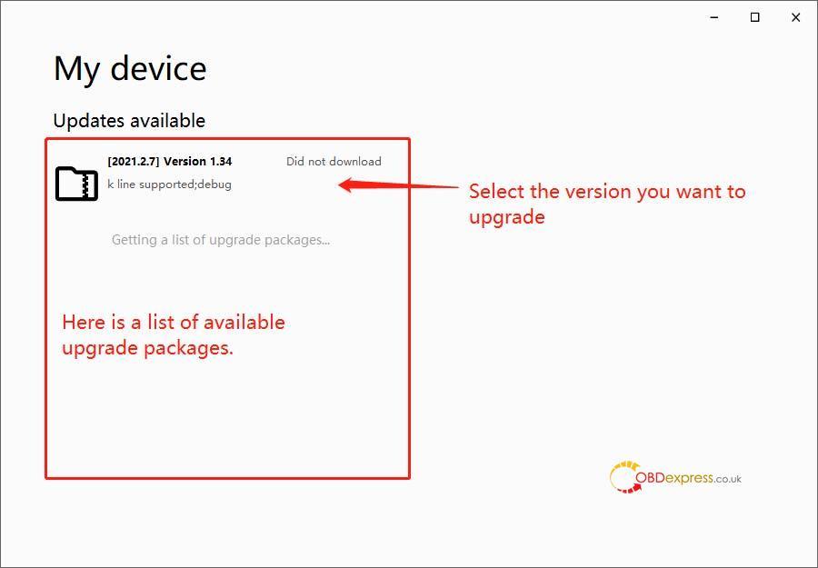 godiag v600 bm firmware update 06 - GODIAG V600-BM license/firmware update, ISTA-D ISTA-P test