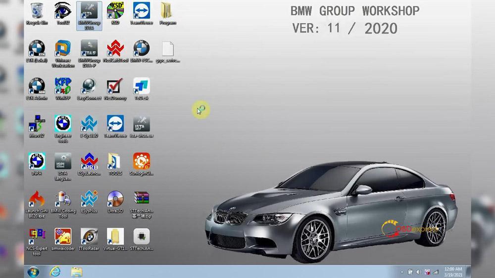 godiag v600 bm ista test 18 - GODIAG V600-BM license/firmware update, ISTA-D ISTA-P test