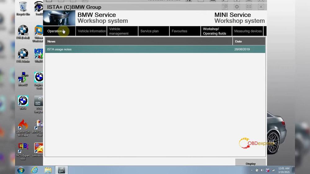 godiag v600 bm ista test 19 - GODIAG V600-BM license/firmware update, ISTA-D ISTA-P test