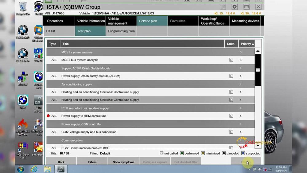 godiag v600 bm ista test 26 - GODIAG V600-BM license/firmware update, ISTA-D ISTA-P test