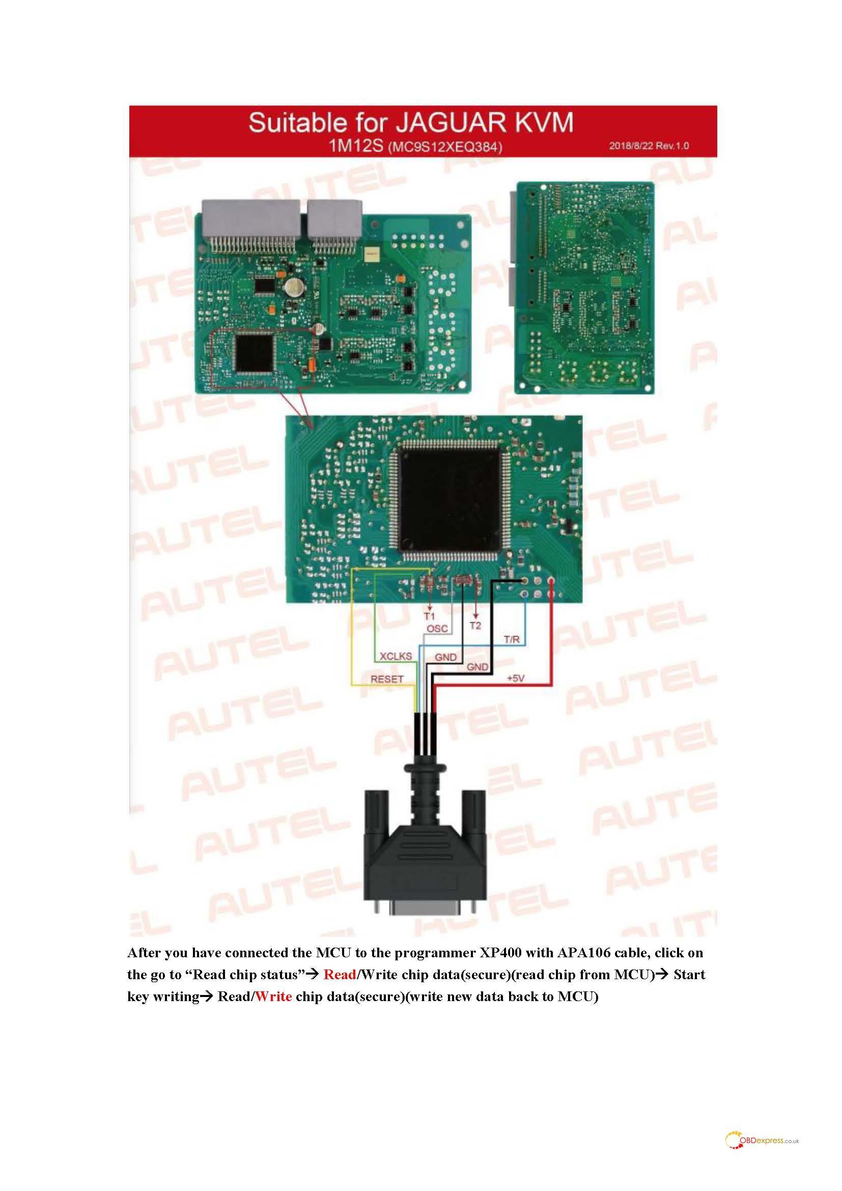 autel im608 range rover 2018 all key lost 09 - Range Rover 2018 AKL with Autel IM608 + XP400 (dump mode) -