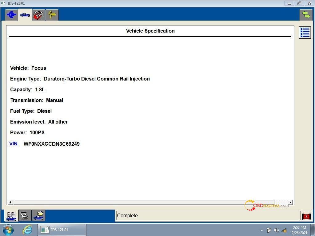 ford mazda ids v121 - IDS V121 for Ford Mazda Free Download and Installation - IDS V121.01 software