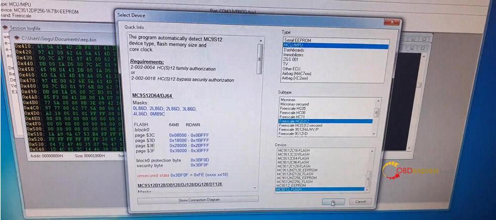 xprog read cem volvo v50 08 - How does Xprog Read CEM Volvo V50 on bench? -