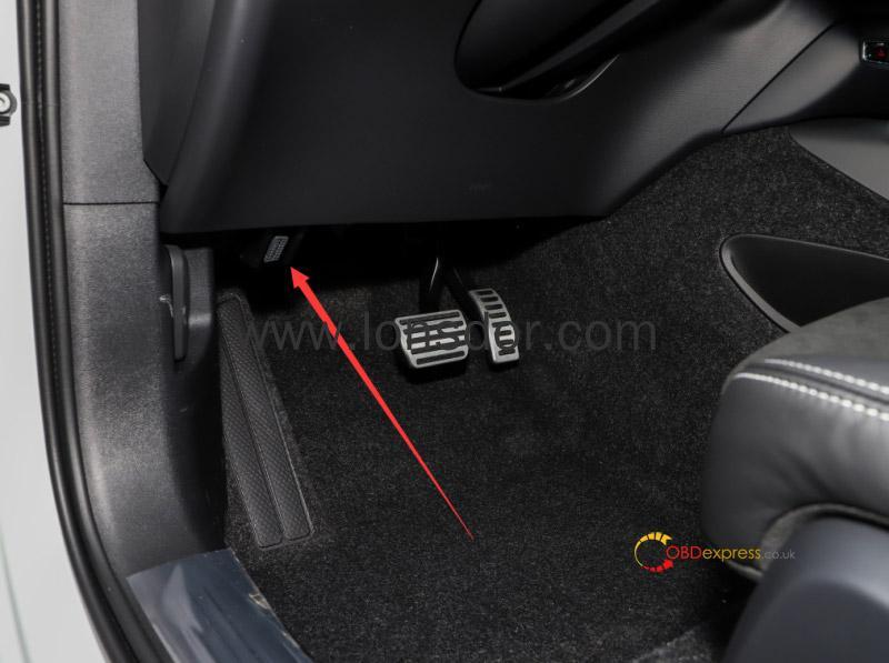 lonsdor k518 volvo key programming 14 - Where is CEM located on new Volvo models for Lonsdor K518? -