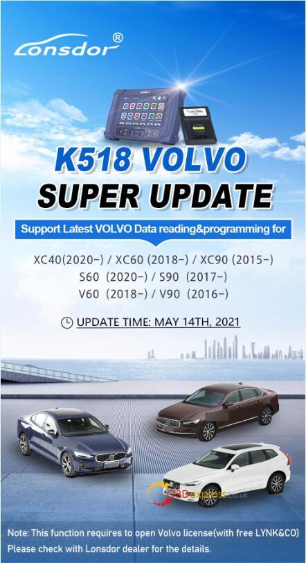 volvo cem located 01 - Where is CEM located on new Volvo models for Lonsdor K518? - Lonsdor K518