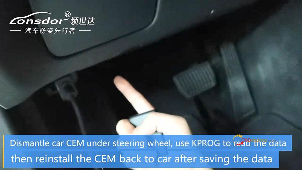 volvo cem located 02 - Where is CEM located on new Volvo models for Lonsdor K518? - Lonsdor K518